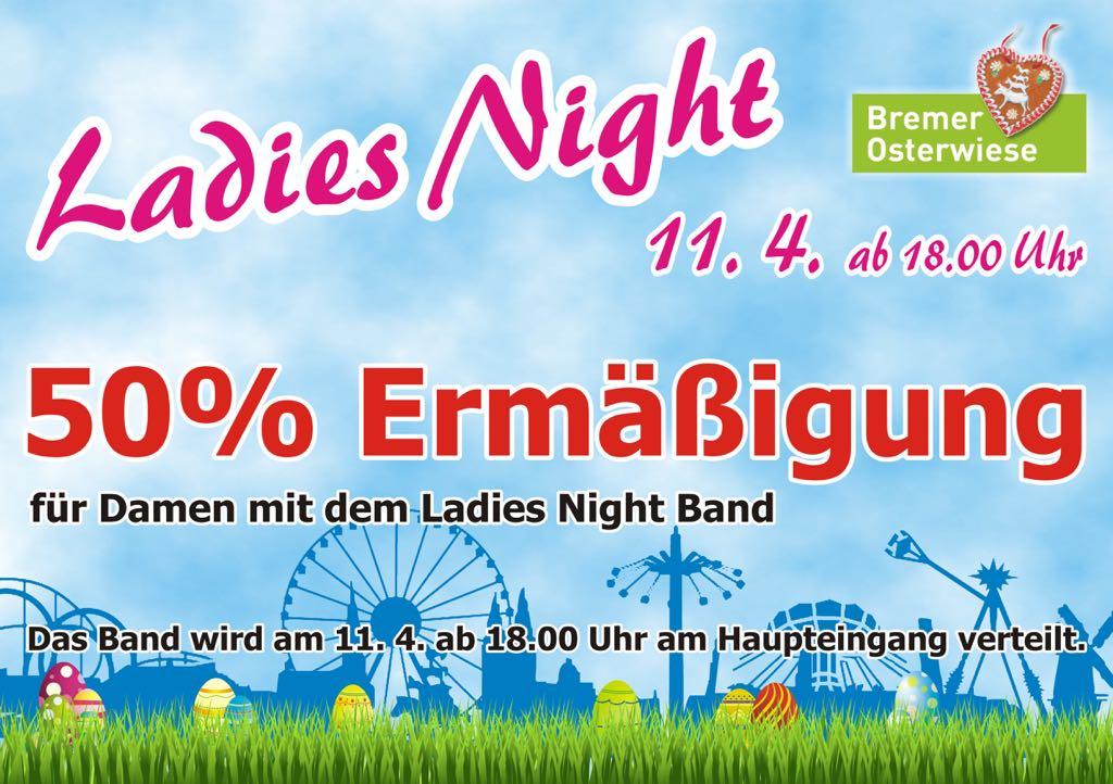 Premiere: Ladies Night am 11. April